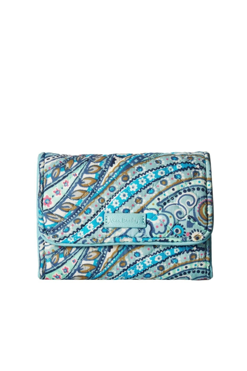 Vera Bradley Daisy Dot Paisley-Riley - Front Cropped Image