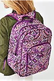 Vera Bradley Dream Tapestry Campus Backpack - Side cropped