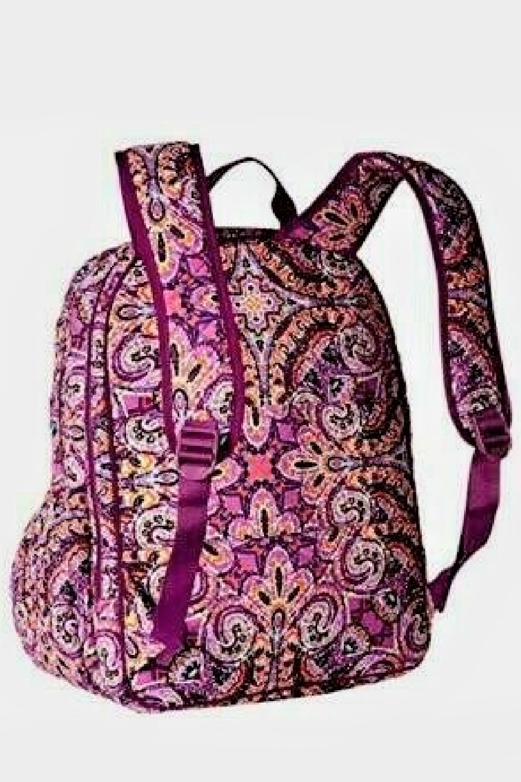 Vera Bradley Dream Tapestry Campus Backpack - Front Full Image