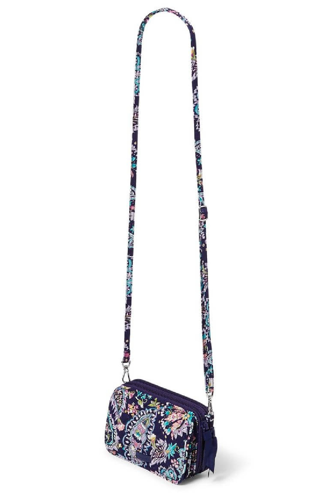 Vera Bradley French Paisley All In One Crossbody - Front Full Image