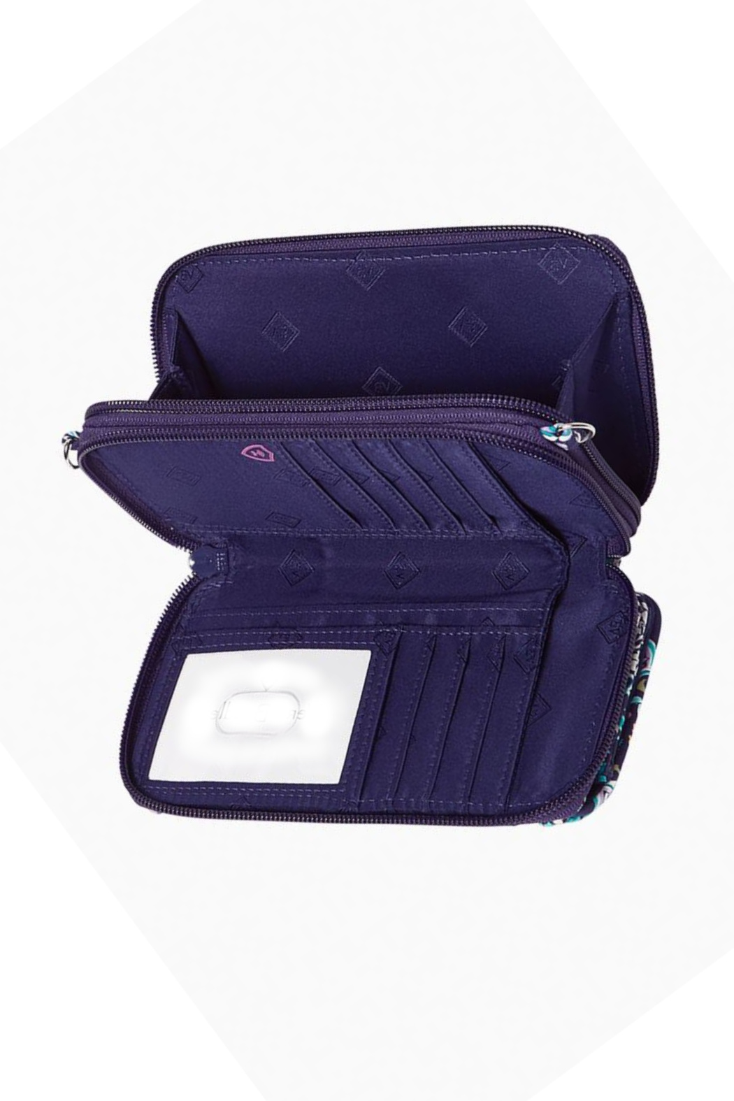 Vera Bradley French Paisley All In One Crossbody - Side Cropped Image