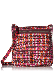 Vera Bradley Houndstooth Tweed Mailbag - Product Mini Image