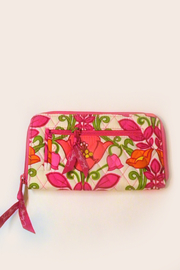 Vera Bradley Lilli Bell Zip-Around Wristlet - Product Mini Image
