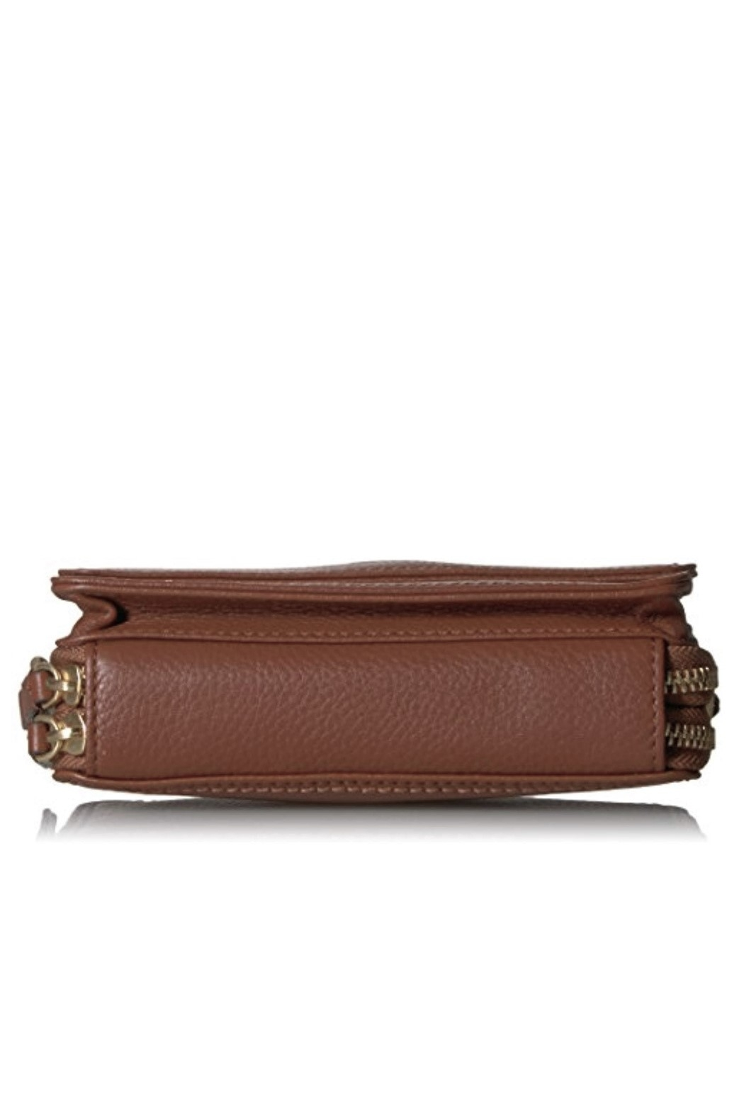 Vera Bradley Mesa Brown Leather Mallory All In One - Side Cropped Image
