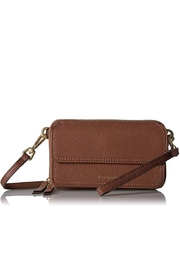 Vera Bradley Mesa Brown Leather Mallory All In One - Front cropped