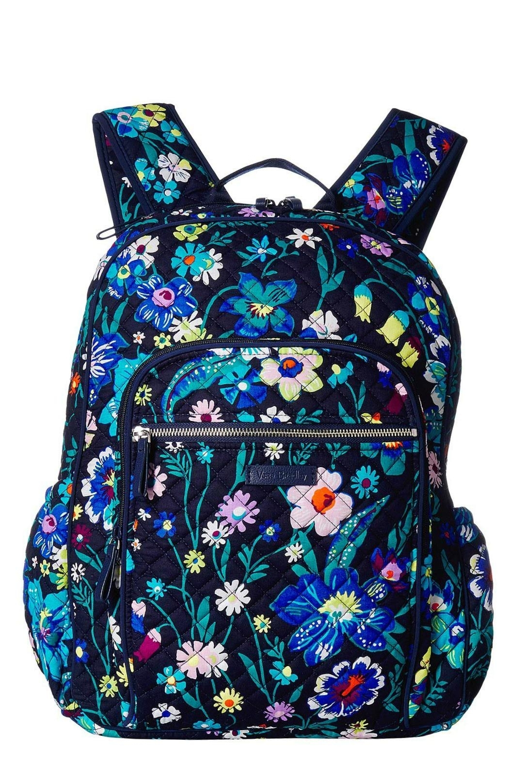 Vera Bradley Moonlight Garden Campus Backpack - Front Cropped Image