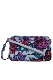 Vera Bradley Petite Neon Blooms All in One Crossbody - Front cropped