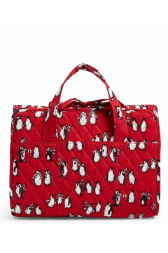 Shoptiques Product: Vera Bradley Playful Penguins Red Hanging Organizer