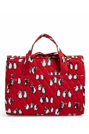 Vera Bradley Playful Penguins Red Hanging Organizer - Product Mini Image