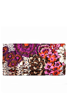 Vera Bradley Rosewood Trifold Wallet - Product List Image