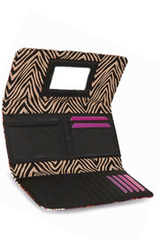 Vera Bradley Rosewood Trifold Wallet - Side cropped