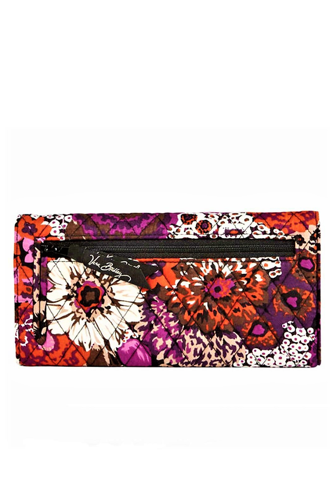 Vera Bradley Rosewood Trifold Wallet - Front Full Image