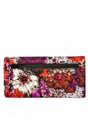 Vera Bradley Rosewood Trifold Wallet - Front full body