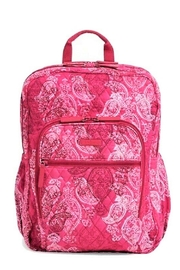 Vera Bradley Stamped Paisley Campus Backpack - Product Mini Image