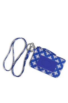 Vera Bradley University of Kentucky Zip ID/Lanyard Set - Alternate List Image