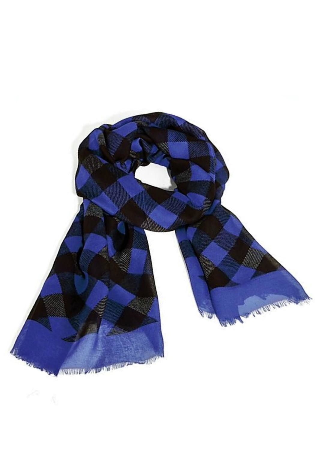Vera Bradley Alpine Buffalo Check-Scarf - Front Cropped Image