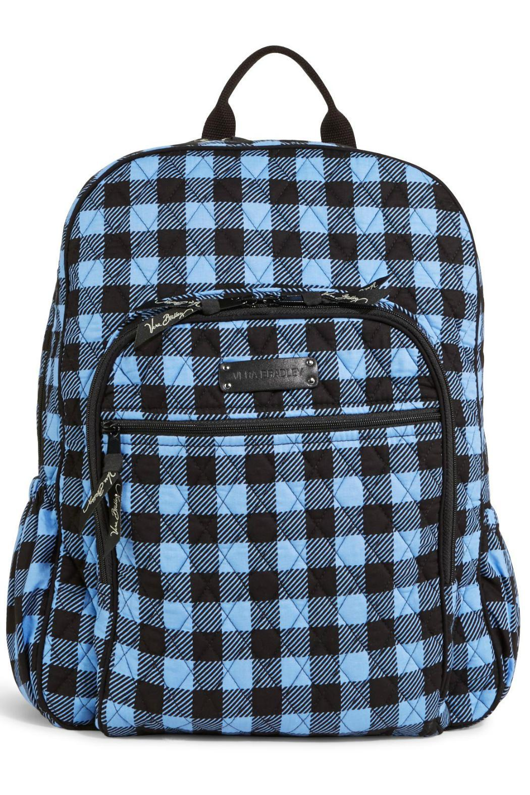Vera Bradley Alpine Check Backpack - Front Cropped Image