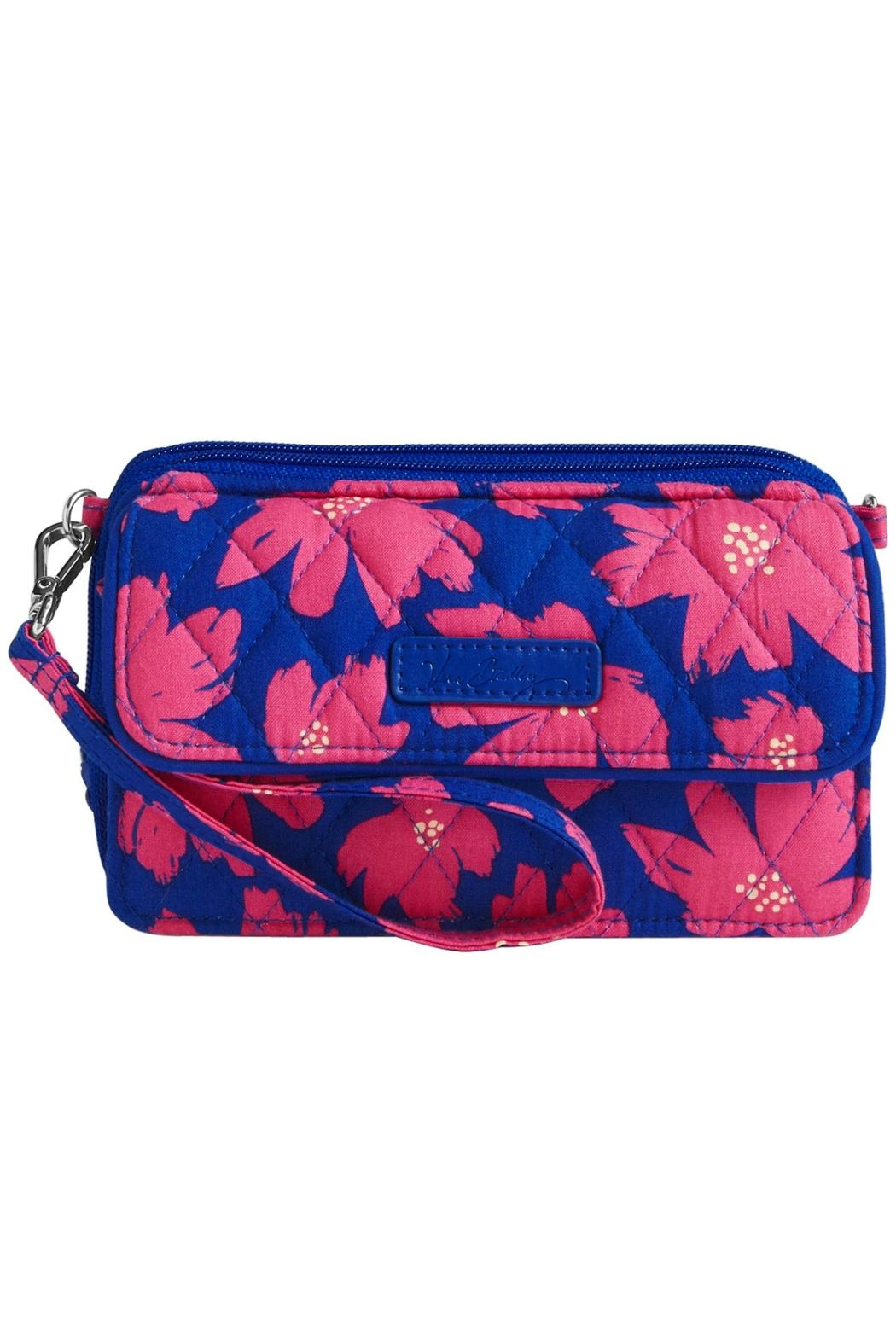 Vera Bradley Art Poppies Bag - Front Cropped Image