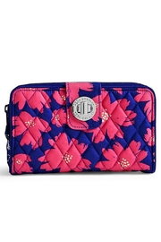 Vera Bradley Art Poppies Turnlock Wallet - Product Mini Image