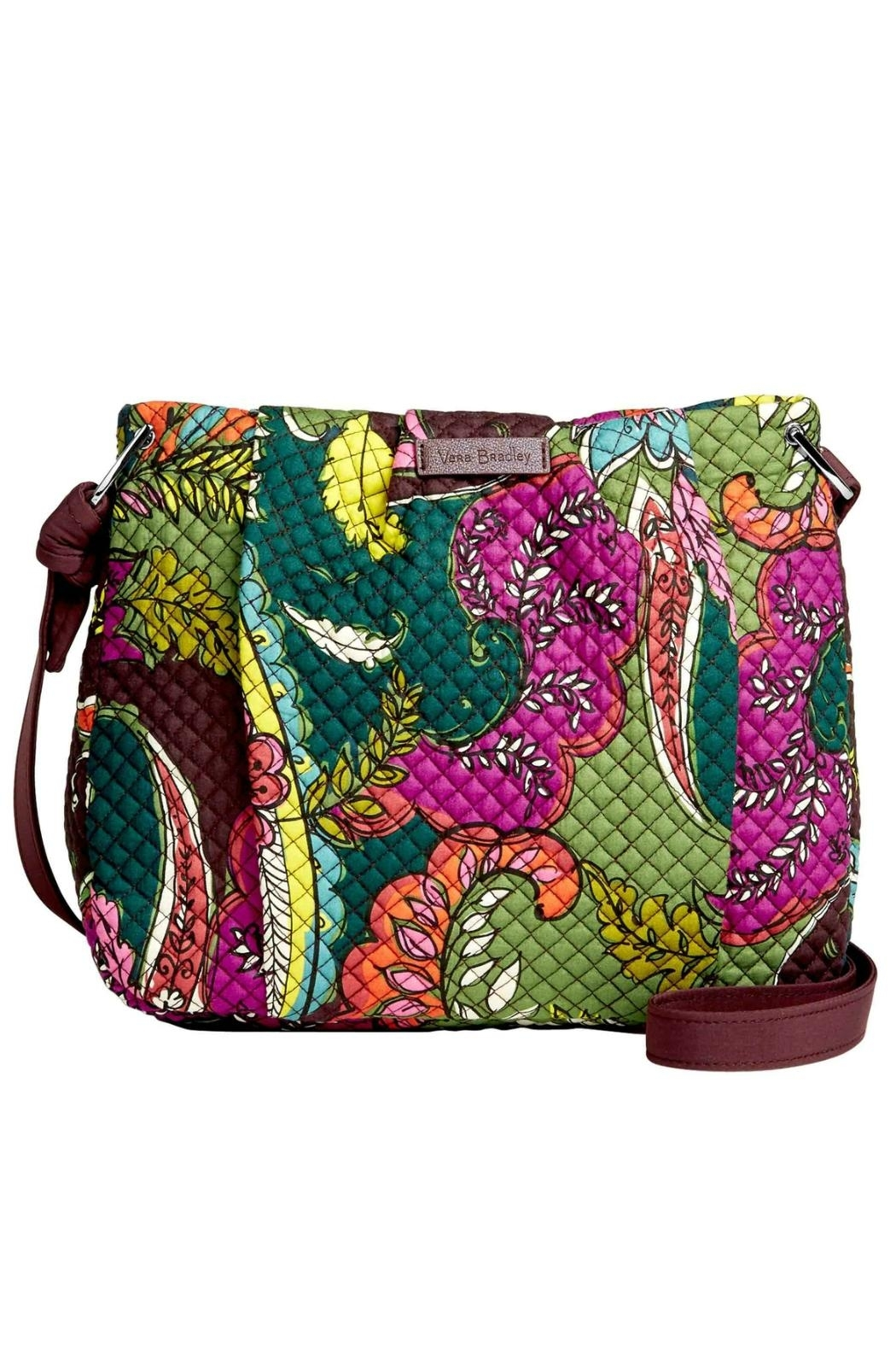 Vera Bradley Autumn Leaves Hadley Crossbody - Front Cropped Image