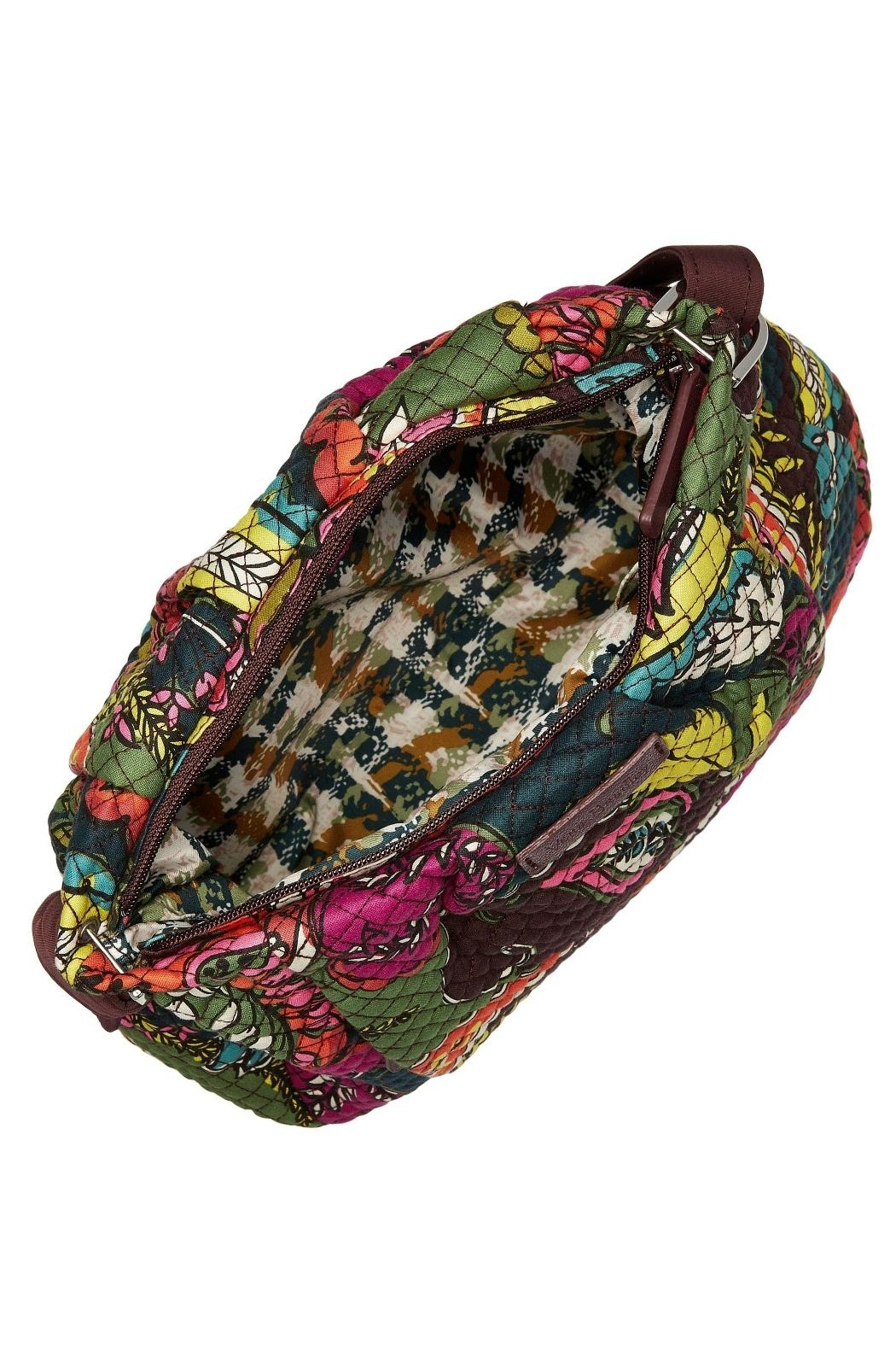 Vera Bradley Autumn Leaves Hadley Crossbody - Side Cropped Image