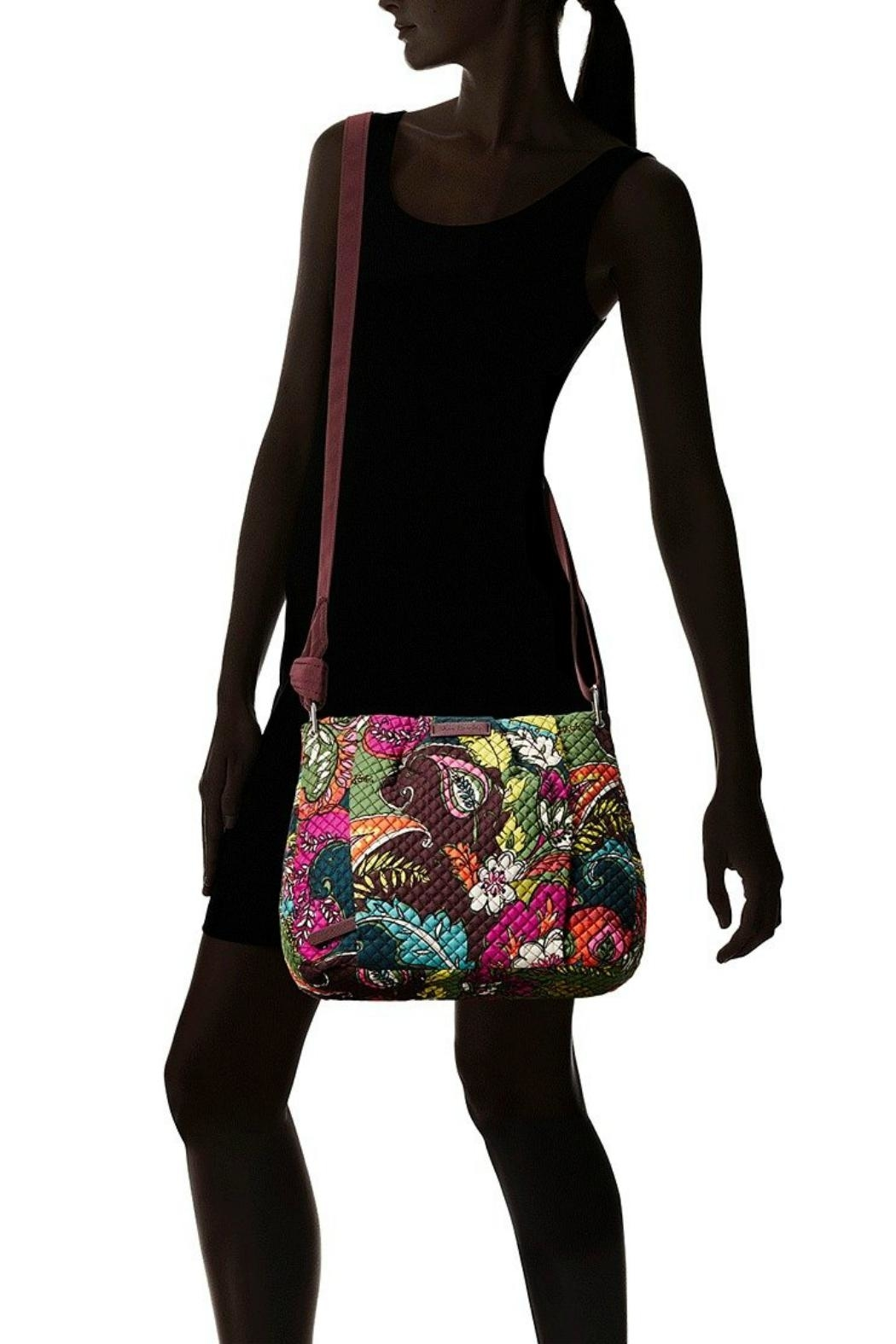 Vera Bradley Autumn Leaves Hadley Crossbody - Back Cropped Image