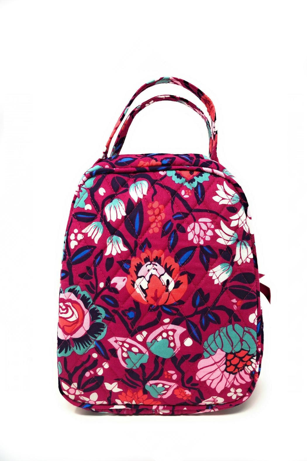 Vera Bradley Bloom Berry Lunch-Bunch - Front Cropped Image