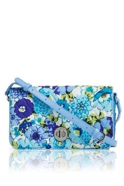 Vera Bradley Blueberry Blooms Turnlock-Crossbody - Product Mini Image