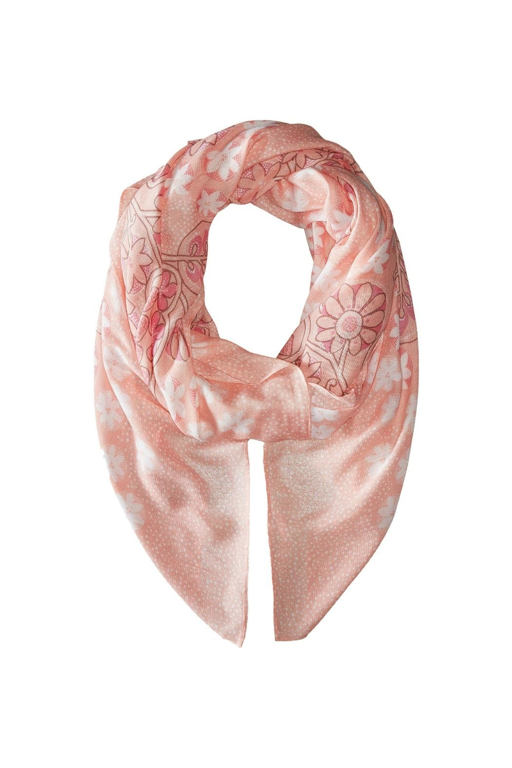 Vera Bradley Blush Pink Oversized-Scarf - Side Cropped Image