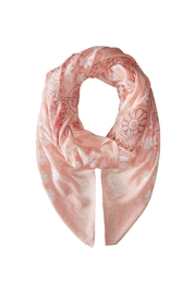 Vera Bradley Blush Pink Oversized-Scarf - Side cropped