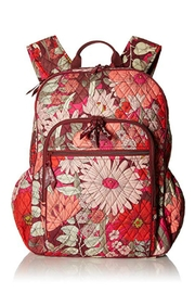 Vera Bradley Bohemian Blooms Campus-Backpack - Front cropped