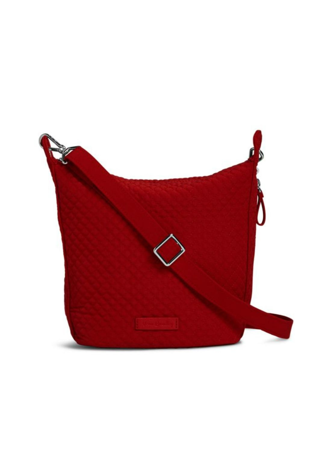 Vera Bradley Cardinal Red Carson-Mini-Hobo - Front Cropped Image