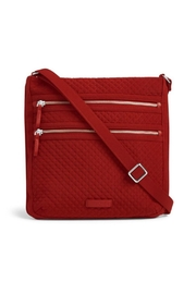 Vera Bradley Cardinal Red Triple-Zip - Product Mini Image