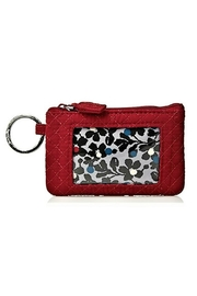 Vera Bradley Cardinal Red Zip-Id - Product Mini Image