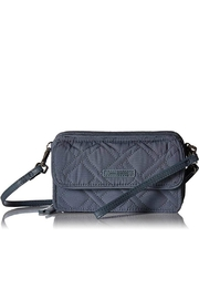 Vera Bradley Charcoal All-In-One Crossbody - Front cropped