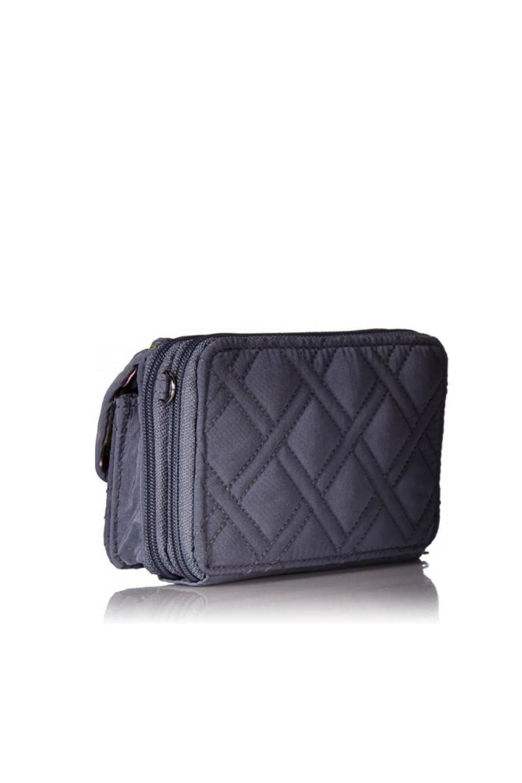 Vera Bradley Charcoal All-In-One Crossbody - Front Full Image