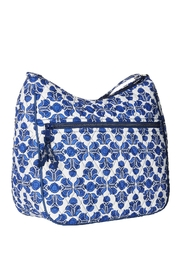 Vera Bradley Cobalt Tile Carryall - Back cropped