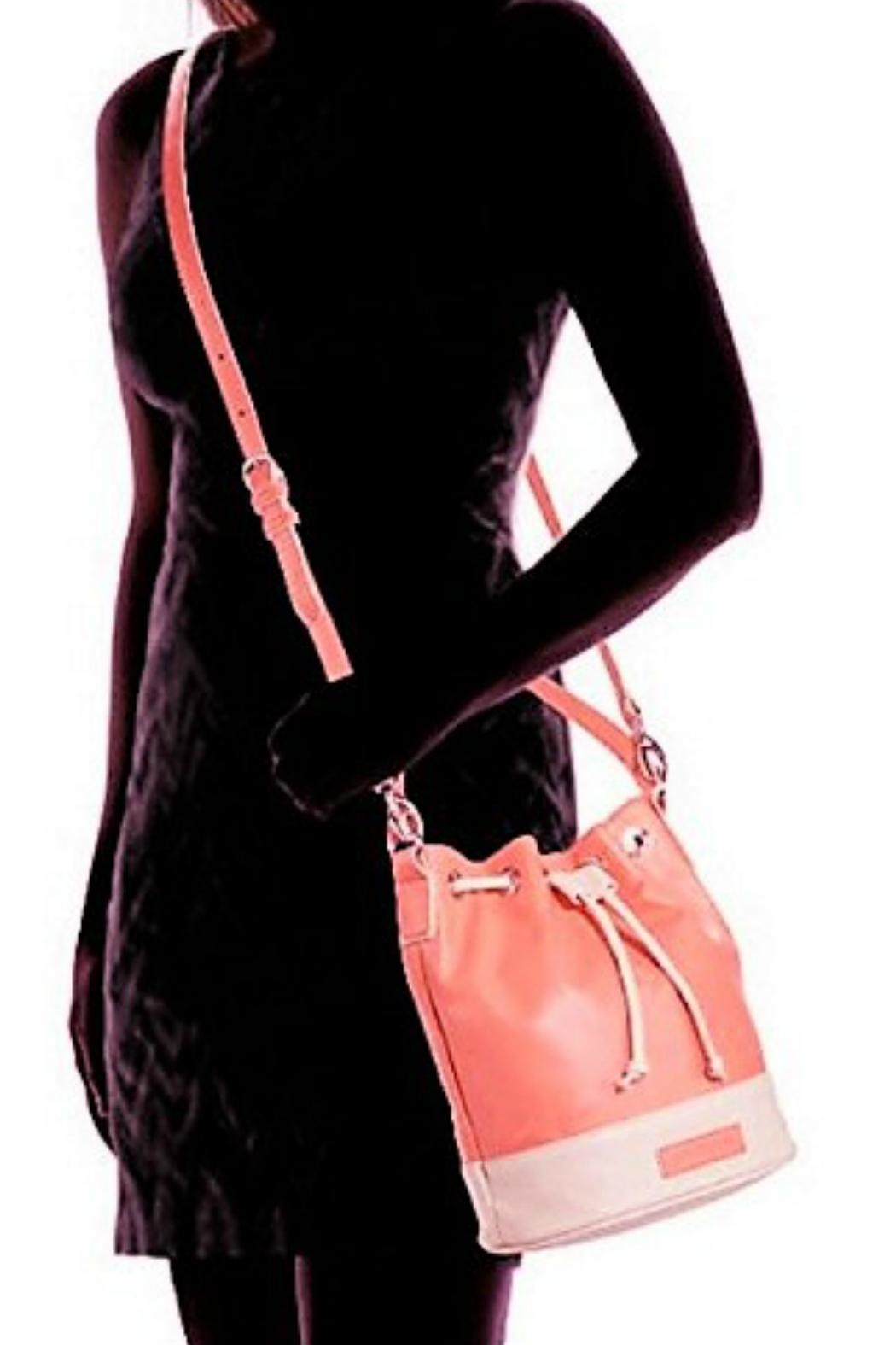 Vera Bradley Coral Bucket Crossbody - Back Cropped Image