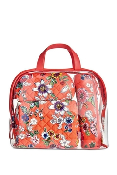 Vera Bradley Coral Floral 4pc-Cosmetic - Product List Image