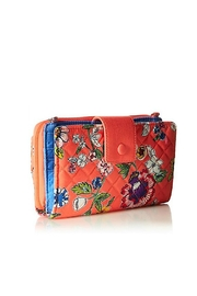 Vera Bradley Coral Floral All-Together - Front full body
