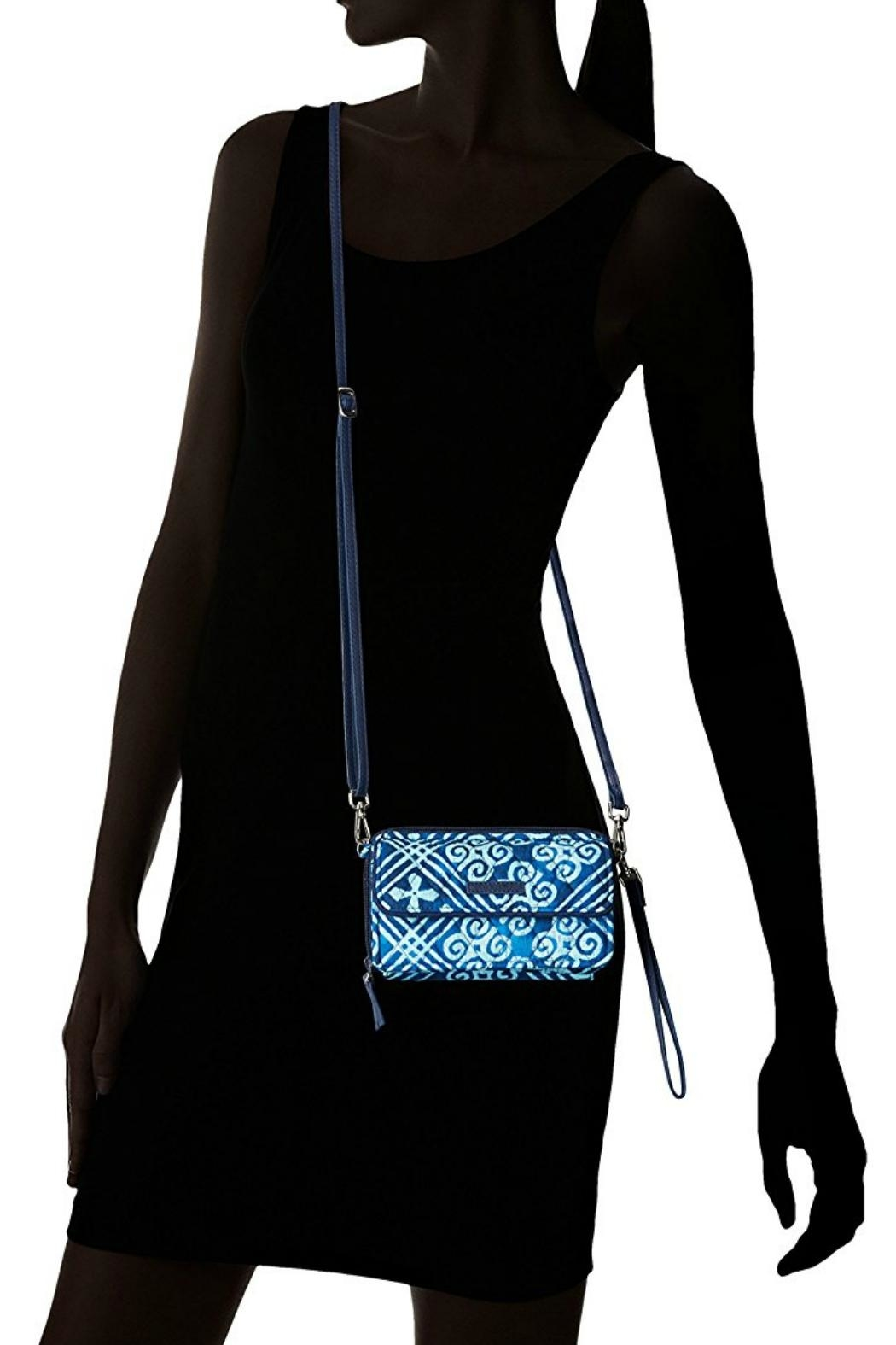 Vera Bradley Cuban Tiles All-In-One - Back Cropped Image