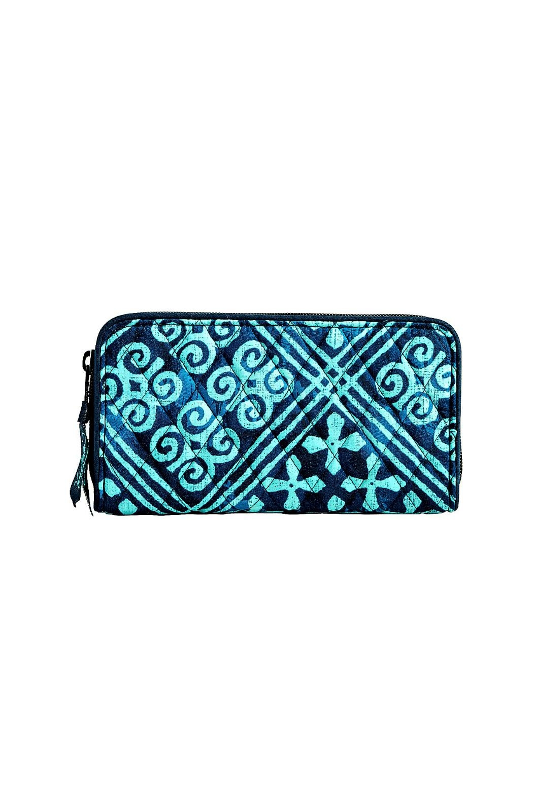 Vera Bradley Cuban Tiles Georgia Wallet - Front Cropped Image