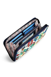Vera Bradley Cuban Stamps Georgia Wallet - Front full body