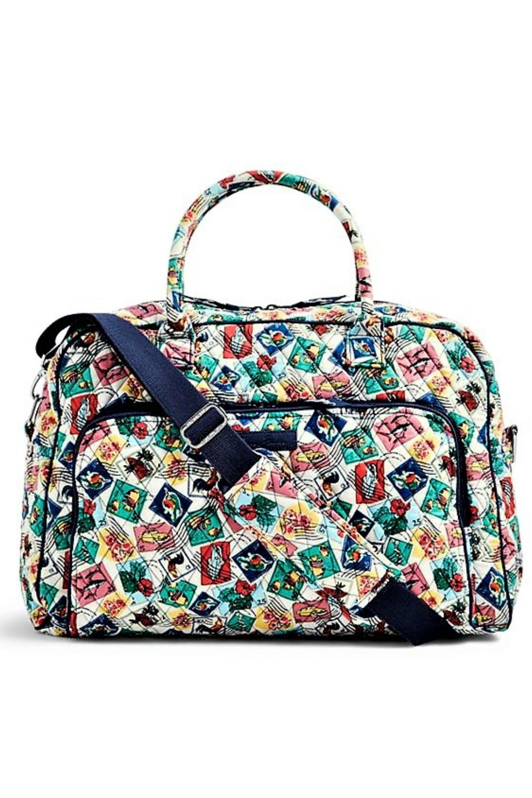 Vera Bradley Cuban Stamps Weekender Bag from Kentucky by Mimi s Gift ... 5db17a0612696