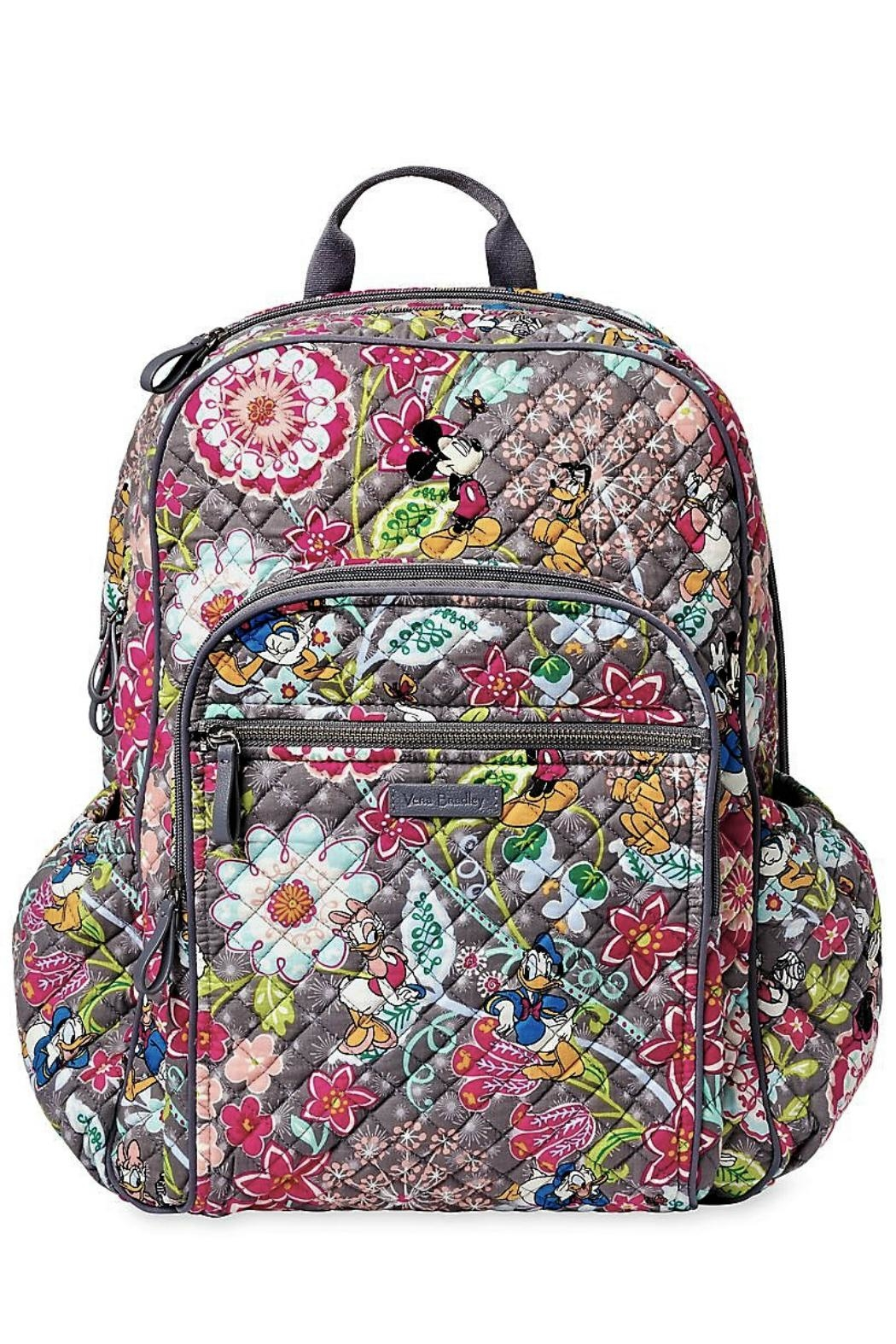 Vera Bradley Disney Friends Campus-Backpack - Front Cropped Image