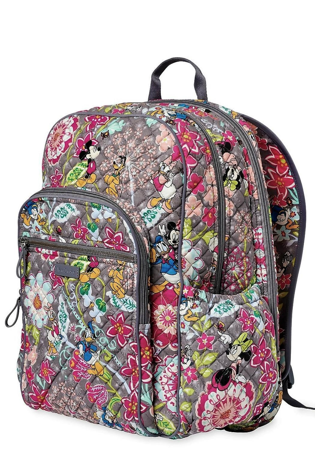 Vera Bradley Disney Friends Campus-Backpack - Front Full Image