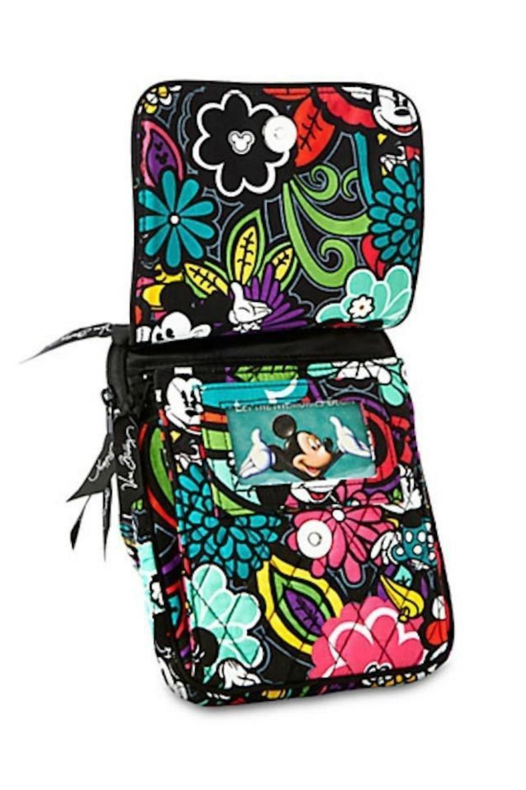 Vera Bradley Disney Magical Blooms-Mini-Hipster - Side Cropped Image