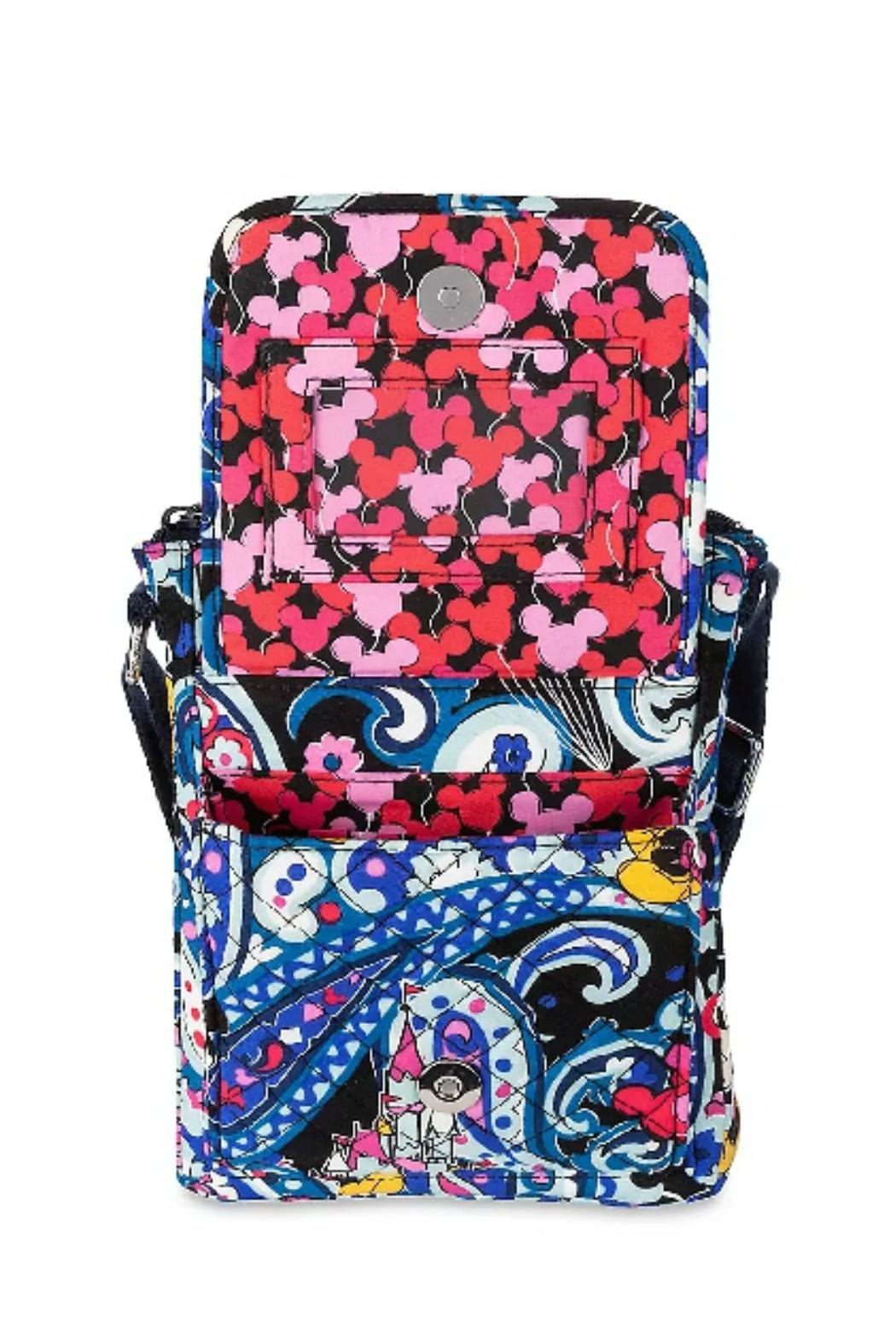 Vera Bradley Disney Whimsical Paisley-Mini-Hipster - Side Cropped Image