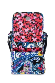 Vera Bradley Disney Whimsical Paisley-Mini-Hipster - Side cropped