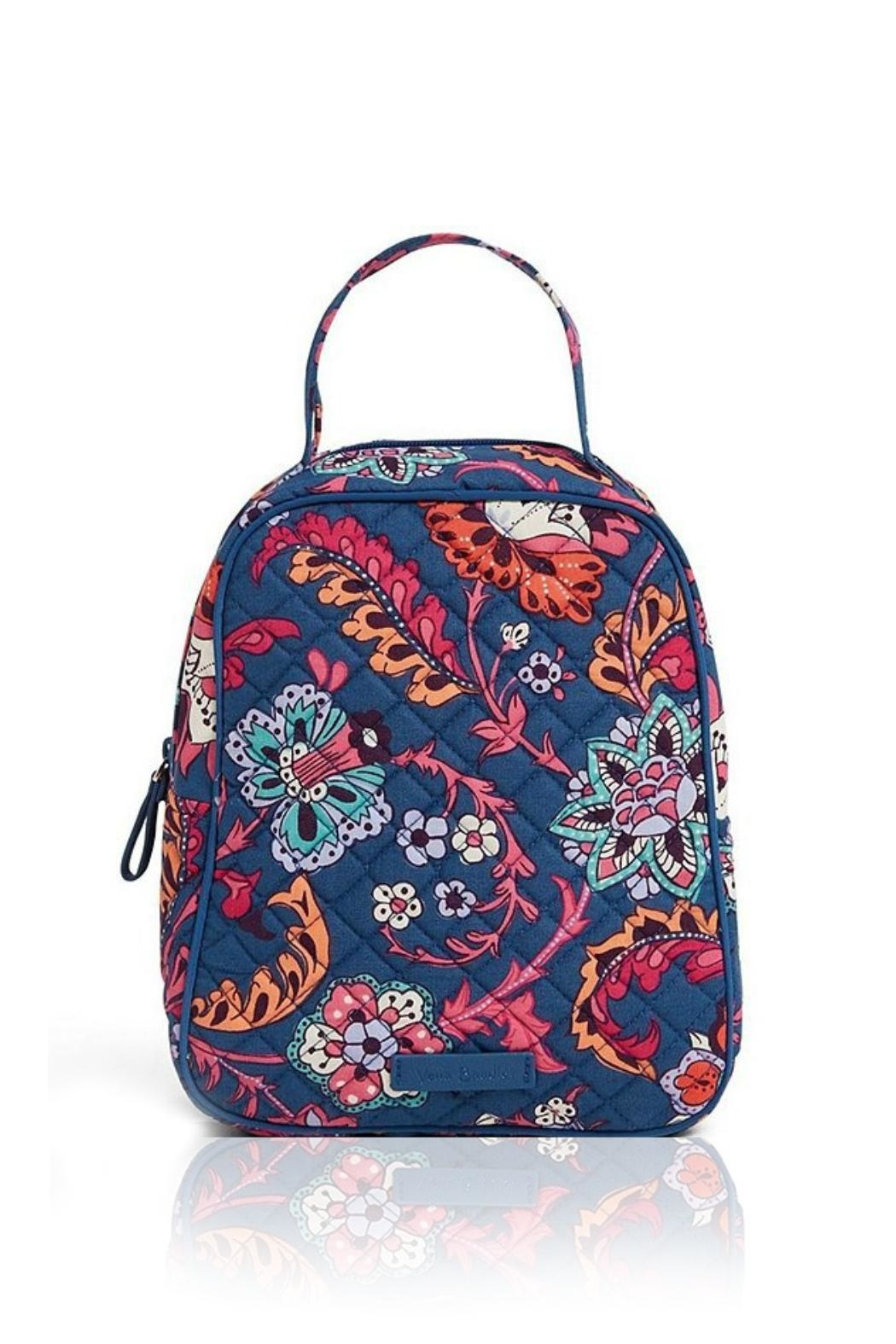 Vera Bradley Dragon Fruit Lunch-Bunch - Front Cropped Image